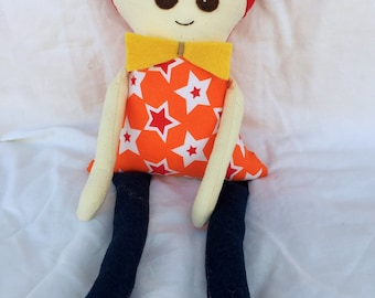 Ted doll, handmade, FREE postage within Australia