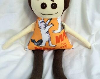 Max doll, handmade, FREE postage within Australia