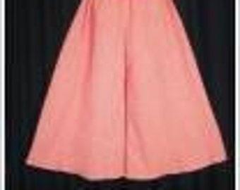 Gauchos/Spilt Skirt Pattern CHILD size and FREE Video Tutorial
