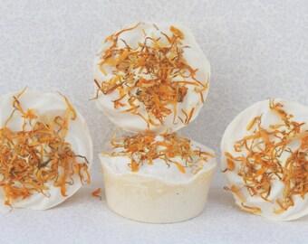 Calendula Soap - Cupcakes -Sensitive Skin / Fragrance Free