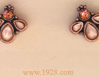 "1928 Jewelry ""Sahara"" Mother of Pearl Stud Earrings"