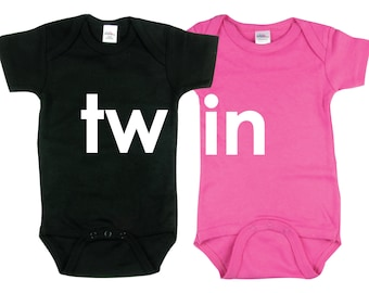 Twin Boy and Girl Baby Gift 2 piece set Baby gift for Twin Boy and Girl, TWIN