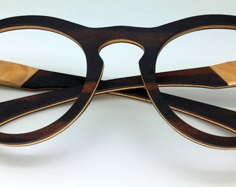 Wooden eyeglasses - JD