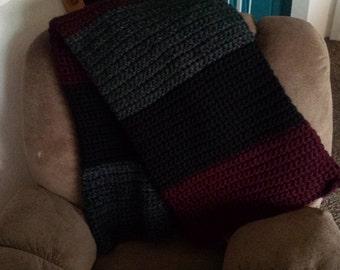 Super Chunky Crochet Blanket