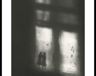 Window. Silver gelatin darkroom print. Merit Award in B&W Contest
