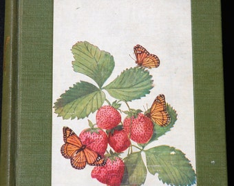 The Book of Butterflies by Clarence Weed field guide 1st ed. 1934 with color plates