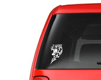 Tribal Cat (A10) Vinyl Decal Sticker Car/Truck Laptop/Netbook Window