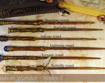 magic wand crystal wand quartz tipped wizard by wizardcraftacademy. Black Bedroom Furniture Sets. Home Design Ideas