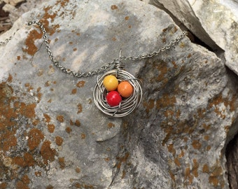 Bird Nest Necklace | Style # 1