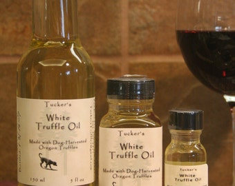 Tucker's Oregon White Truffle Oil