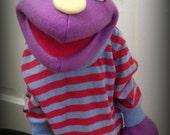 Purple Hoopet! (Pro-quality value series hand puppet *Special introductory price!*)