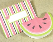 WATERMELON Printable Card Envelope Digital Instant Download PDF Fruit Beach Summer Blank Greeting Card Envelope Invitation Party Melon