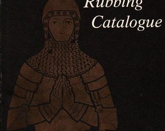 Brass Rubbing Catalog - Ann Davies - 1978 - Vintage Book