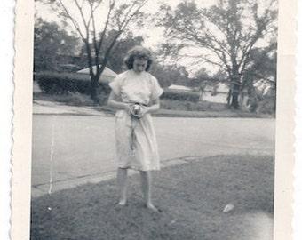 Female amateur photographer 50s photo