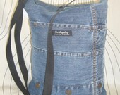 Re-Hanna 5 blue denim bag
