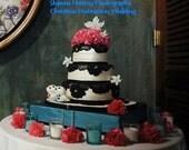 "25, DIY5""-7"" Tissue Paper Flowers,carnation,mum,dahlia, rose, peony,  simple elegance, cheap,birthday,wedding,"