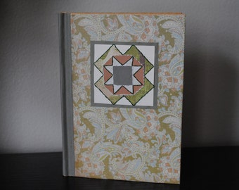 Paper Quilted Hand Decorated Journal