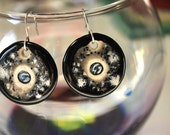 Pale Blue Dot Earrings