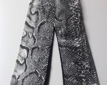 Boy's Snakeskin and Corduroy Pant - Size 3 or 3T