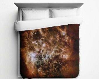 Magellanic Cloud Duvet Cover - Made in USA
