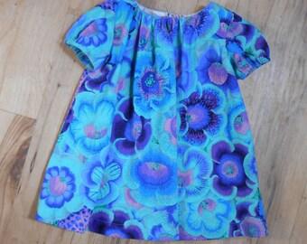 Size 2 Girls Dress of Extraordinary Fabric