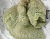 Green Bean - ART BEAN BATT  - sw merino/bamboo/camel/Silk