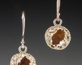 Sea Glass Earrings, Sea Glass Jewelry,  Aloha Earrings  - Sea Glass Collection  *Limited Edition*