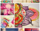 """Online Art Class """"Soul. Full. : Pretty little ways to bring more SOUL into the day"""""""