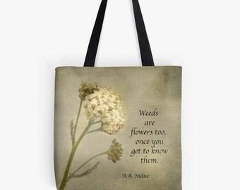 Wild Herb - Tote Bag, Shopping bag, Farmer's Market, gift