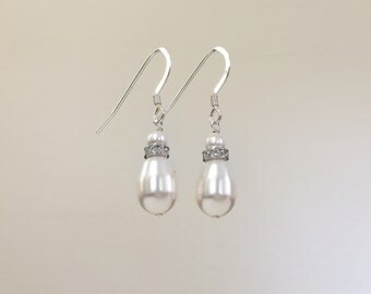 Ladylike Earrings, in sterling silver