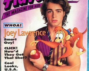 disney adventures magazine, september 1993 - joey lawrence!