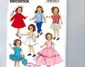 Doll Sewing Pattern Butterick BP270 B6000 6000 Reproduction 18 Inch Retro Dress Slip Bra Shirt Pants Coat 1950s 50s Style Vintage UNCUT  99