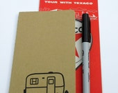Scamp Travel Notebook, Scamp Camper, Burro, Casita, Egg Camper, Camping Journal, Mileage Journal, Pocket Notebook, Moleskine Cahiers, Camp