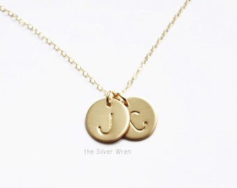 Gold Initial Necklace, Personalized Necklace, Gold Necklace, Personalized Gold Necklace, Mothers Necklace, Personalized Jewelry