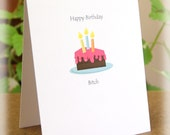 MATURE CONTENT CARD - Happy Birthday Bitch Humorous Funny Greeting