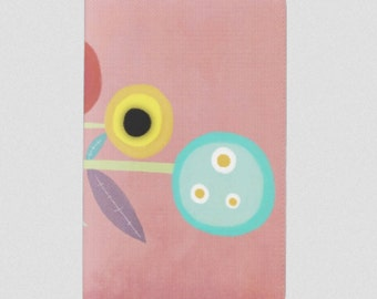 Moleskine Notebook Cover - Rupydetequila Whimsical Illustrations