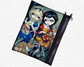 Alice & Snow White Jasmine Becket Griffith bag wristlet, travel bag,