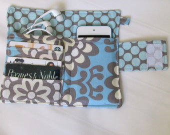 Design Your Own Ipod, Iphone,Cellphone Wallet, Card Organizer - Made to Order your choose fabric