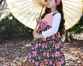 Girl's Hi-Low Maxi dress, Reverse Knot Dress, Spring dress, Easter dress, leopard, polka dots,Bohemian dress,sizes 12 months through 7/8