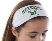 Design Your Own Custom LACROSSE Cotton Stretch Headband-VARSITY FONT