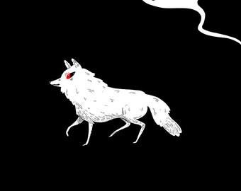 Ghost - Illustration Print