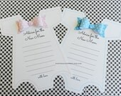 Baby Shower Game-Pink or Blue Onesie -Advice For the New Mom  Party Game