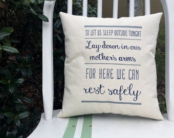 One Sweet World, Dave Matthews Band- Customizable Double Sided Lyric Pillow