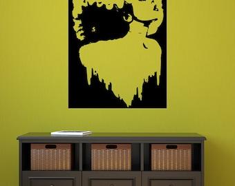 Bride of Frankenstein Vinyl Decal Art-Custom color and finish