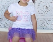 Look Whoo's Going to be a Big Sister Embroidered Shirt, Big Sister Shirt, Announcement Shirt, Baby Reveal Shirt, LDM