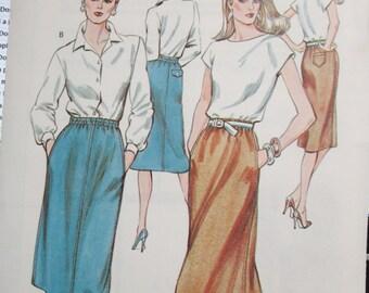 1329  KWIK SEW Pattern       Misses  skirt  Sizes 6  8  10  12