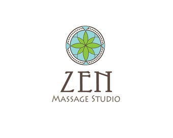 Custom Logo Design, Logo Design, Massage Logo