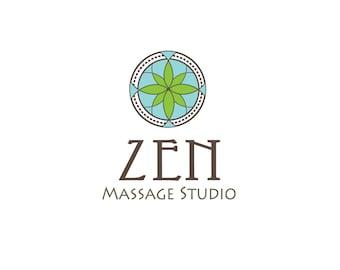 Custom Logo Design, Logo Design, Massage Logo