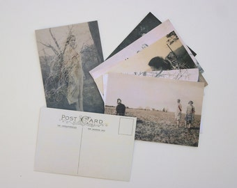 Postcard Set of 8 Saudade