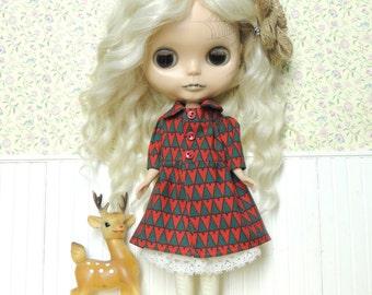 SALE: Mori Over Coat, Christmas Trees